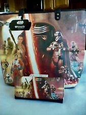 Disney Loungefly Star Wars Large Tote with Matching Wallet + Free Shipping