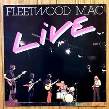 Fleetwood Mac Live BR LP 16 Belgium Import LP Vinyl A/B NM*