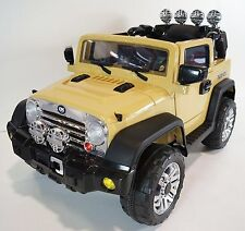 JEEP Wrangler Style For Kids Model JJ235 Ride On Car With Remote Control Yellow
