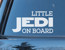 Star Wars Little Jedi Baby on Board Funny Safety Sign Car Decal Vinyl Sticker