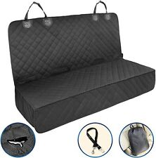 Petural Dog Car Seat Covers for Back Seat - Waterproof Dog Back Seat Cover for S