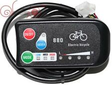 Risunmotor 36/48V 3-speed PAS LED Control Panel/Display 880 for Electric Bike