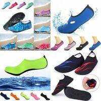 Mens Women Water Shoes Aqua Diving Socks Quick-Dry Beach Slip On Swim Reef Shoes