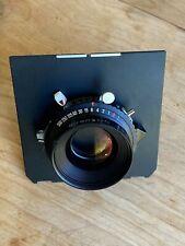 Rodenstock 150mm f/5.6 Sironar-N MC 4x5 large format lens, Copal 0 shutter