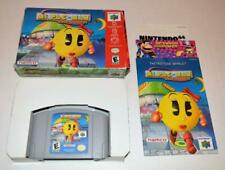 MS. PAC-MAN: MAZE MADNESS CIB COMPLETE IN BOX W/ MANUAL NINTENDO 64 GAME N64