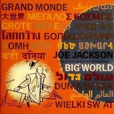 Big World Joe Jackson (Early CD JAPAN 1986 A&M) UPC 08283960212 CD 6201