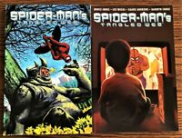 MARVEL SPIDER-MAN TANGLED WEB LOT  VOLS. 1 & 2  TPB VERY FINE/NEAR MINT