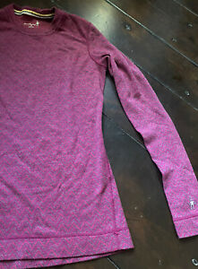 Smartwool Women's Pullover Shirt 100% Merino Wool Size Medium
