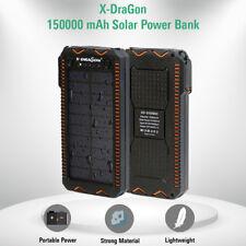 NEW Portable Solar Power Bank 15000mAh Camping Survival External Battery Charger
