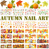 Autumn Nail Art Water Decals, Nail Stickers, Nail Decals, Harvest, Thanksgiving