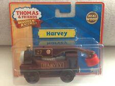 THOMAS & FRIENDS WOODEN RAILWAY HARVEY STEAM CRANE AS NEW ON PLASTIC CARD PACK