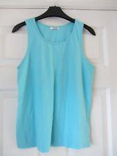 Women's Aque Pyjama Vest Top Size 12 By Cherokee Tesco
