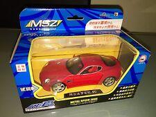 1:32 MSZ ALFA ROMEO 8c COMPETIZIONE Rosso no 1:43 non importato limited ed.  2