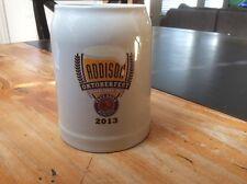 Paulaner Munich Bier 0.5L Addison TX 2013 Oktoberfest Ceramic Beer Stein Mug