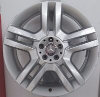 CERCHI IN LEGA 8,5 X 20 MERCEDES ML ORIGINALE RIVERNICIATO A1664010902