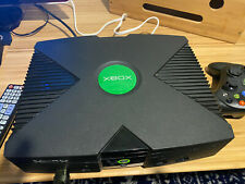 Microsoft Xbox 8Gb Black Console with Component Video & Digital Audio Adapter