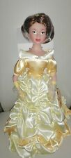 """Disney Princess Belle Beauty And The Beast 15"""" Porcelain Doll"""