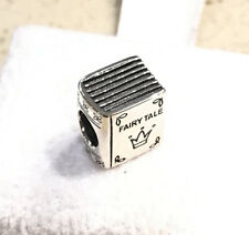 RETIRED ~ Pandora Once Upon A Time Bead Charm #791109 + Gift Packaging & Pouch