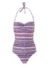 John Lewis Bikini bottoms Tropic Paradise Size UK 8,14 16 black white NEW
