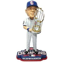 Kyle Schwarber Chicago Cubs 2016 World Series Bobblehead MLB