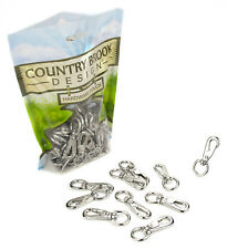 10 - Country Brook Design® 2 Inch Swivel Lobster Snap Hooks
