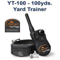 SportDOG 100 Yard Trainer YT-100 Remote Dog Trainer E-Collar Rechargeable