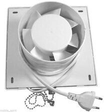 """4""""100mm Bathroom Extractor Fan Kitchen Exhaust fan Ventilating fan 220V CE White"""