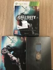 CALL OF DUTY HARDENED EDITION COLLECTOR STEELBOOK MÉDAILLE XBOX 360 FRANÇAIS