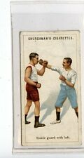 (Jc7051-100)  CHURCHMANS,BOXING,INSIDE GUARD WITH LEFT,1922,#3