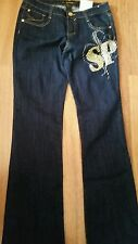 WOMEN'S SOUTHPOLE LOW RISE STRETCH JEANS SIZE 7