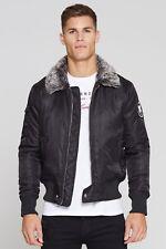 Good For Nothing Aviator Jacket Black