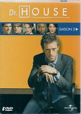 COFFRET 6 DVD ZONE 2--SERIE TV--DR.HOUSE - INTEGRALE SAISON 2 / 24 EPISODES