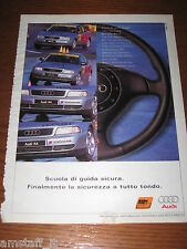 *AN97=AUDI A4=PUBBLICITA'=ADVERTISING=WERBUNG=COUPURE=