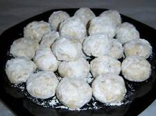 ~~Homemade DELICIOUS RUSSIAN TEA CAKES-COOKIES~~ 2dozen
