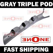03-08 Dodge Ram 2500 3500 Gray Triple Gauge Pillar Pod