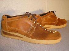 7 Nos 70s Mens American Gentleman Usa Brown Suede Platform Hippie Oxford Shoe