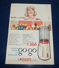 A223-Advertising Pubblicità-1959-FRULLATORE ELETTRICO GO-GO BIALETTI