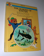 The MAKING of TINTIN Herge Peeters Methuen 1983 Secret UNICORN 1st exc.