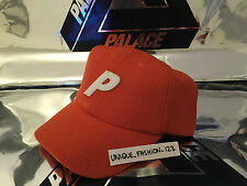 PALACE SKATEBOARDS 6 PANAL ORANGE WOOL CAP P HAT STADIUM CURVED PEAK SS16 CURVE