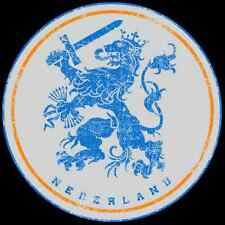 "Dutch National Team Sticker  6"" x 6"" - Netherlands Sticker - StickersFC.com"