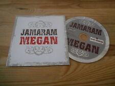 CD Reggae Jamaram - Megan (1 Song) Promo SOULFIRE ROUGH TRADE cb