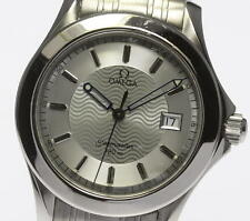 Authentic OMEGA Seamaster 120m 2511.31 Silver Dial Men's Quartz Watch_325571
