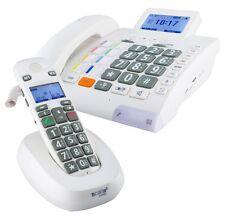 Seniorentelefon Humantechnik Scalla 3 Combo Schwerhörigen-Telefon Anrufbeantwort