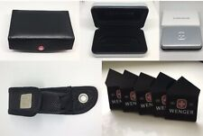 SWISS ARMY KNIFE Wenger Box and case and stands for knife Accessories