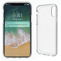 Cygnett Stealth Shield Crystal Cover For iPhone X/XS Slimline Protective Case