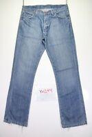 Wrangler Dayton (Cod. Y1299) tg47 W33 L34 jeans vita alta usato vintage