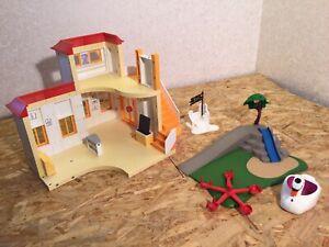 Playmobil 5567 Kita, Kindergarten, Spielplatz Rutsche 4132, unvollständig