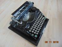 Alte CONTINENTAL Reise Schreibmaschine Wanderer Werke Antik