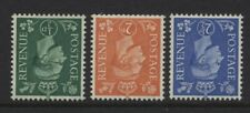 1941 ½d- 2½d LIGHT COLOURS INVERTED WMK SET U/MINT. SG 485Wi-9Wi