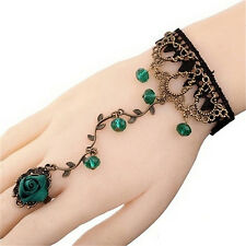 New Women Gothic Lace Bracelet Bangle Retro Jewelry Women Prom Accessories MG.AU